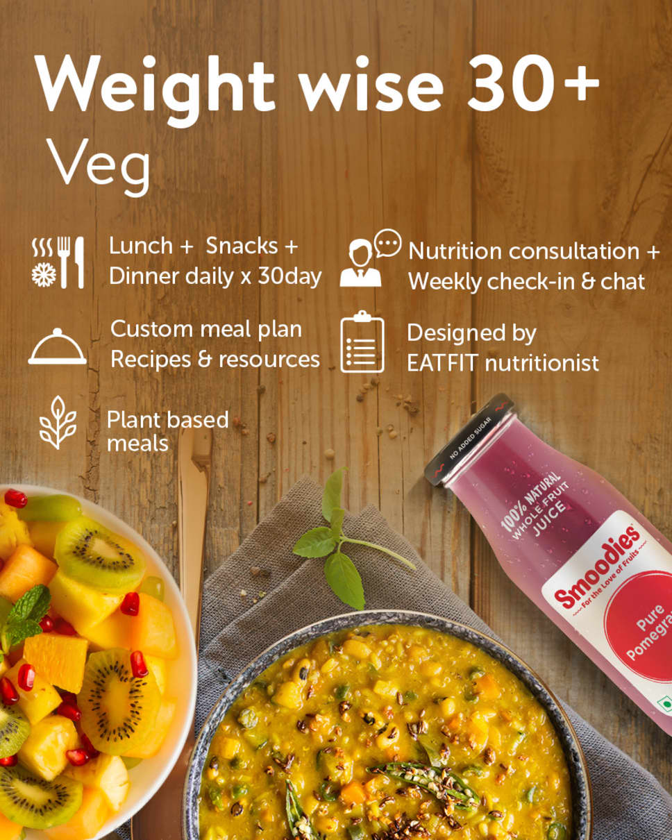Weight Wise 30+ Homely Meals Subscription at Eat.fit