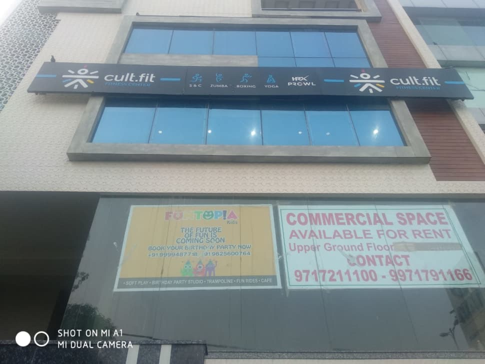 cult.fit Gym in Pitampura Workout Center