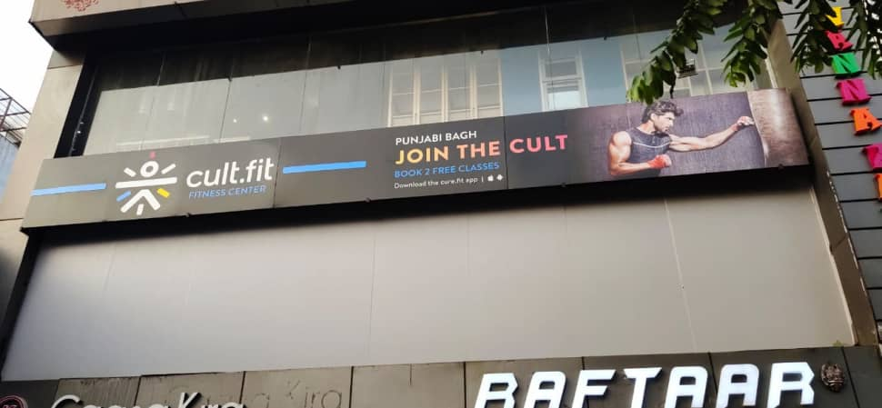 cult.fit Gym in Punjabi Bagh Workout Center