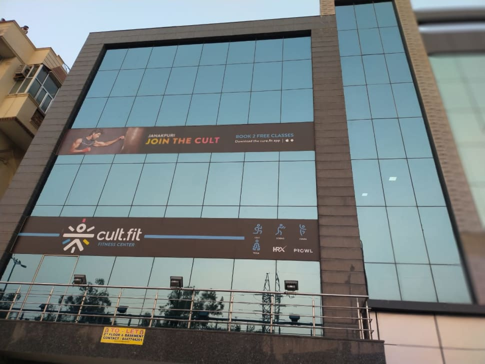 cult.fit Gym in Janakpuri  Workout Center