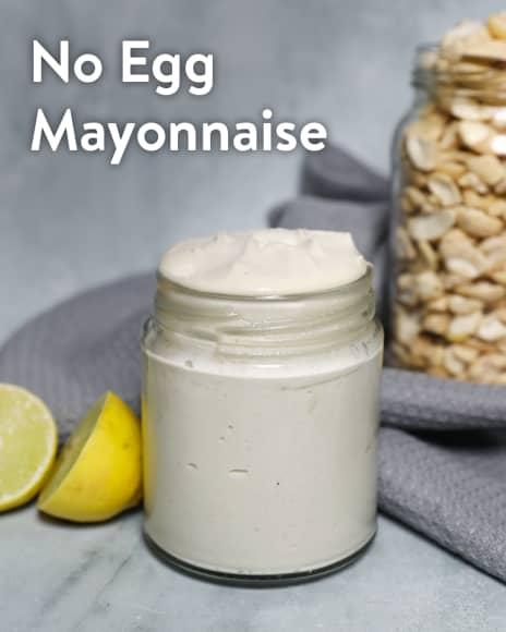 No Egg Mayonnaise
