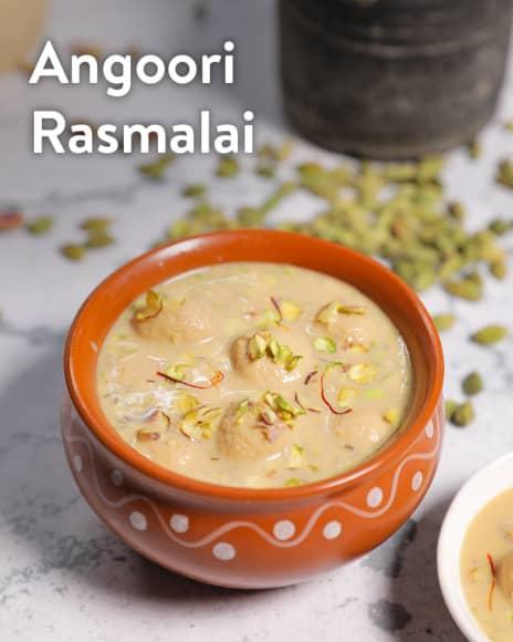 Angoori Rasmalai