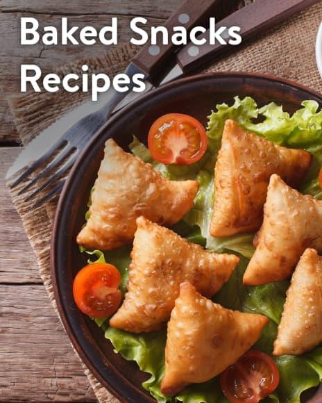 Baked Snacks Recipes