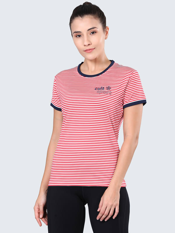 Neo Band Red Gym Tee