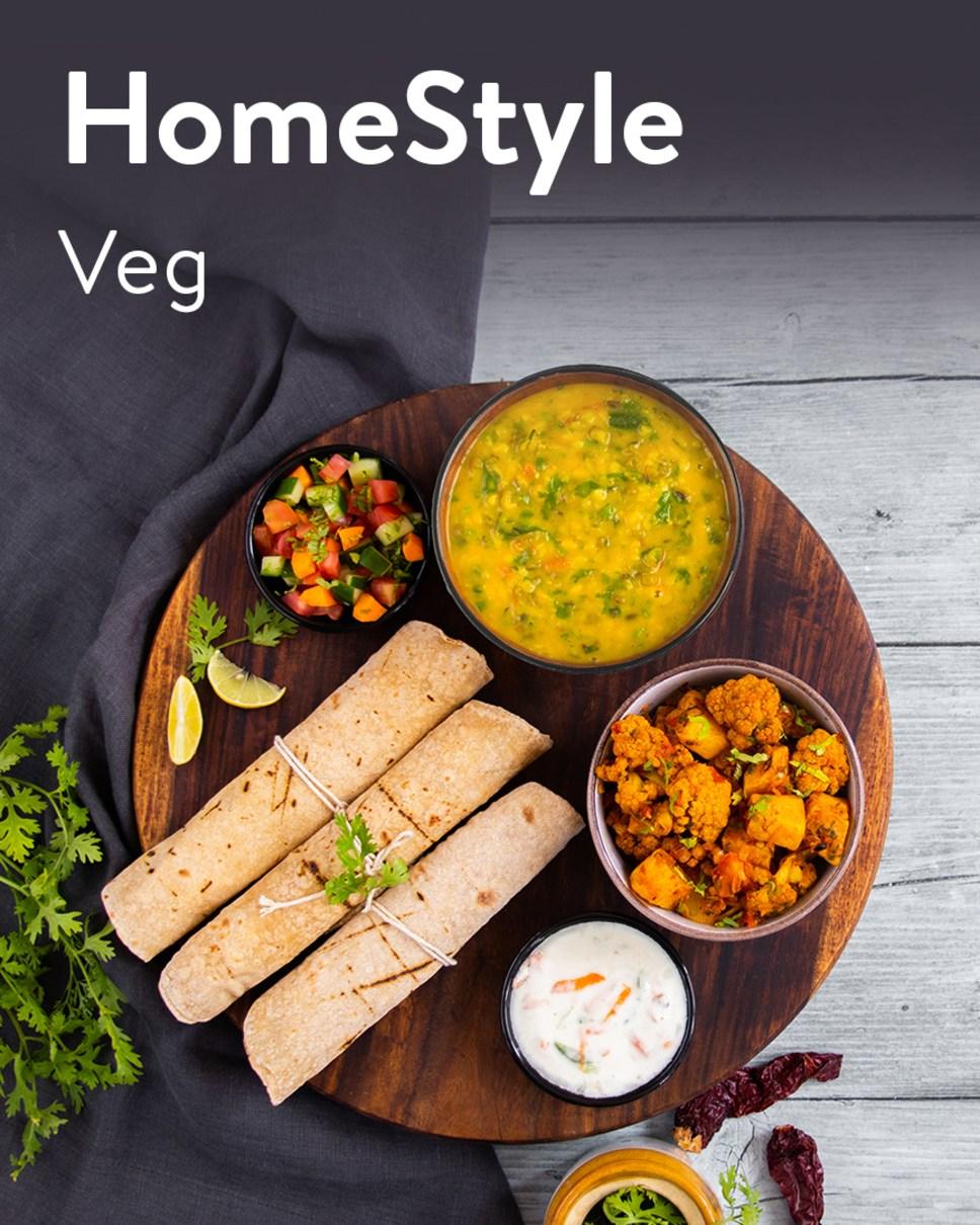 HomeStyle Veg Homely Meals Subscription at Eat.fit